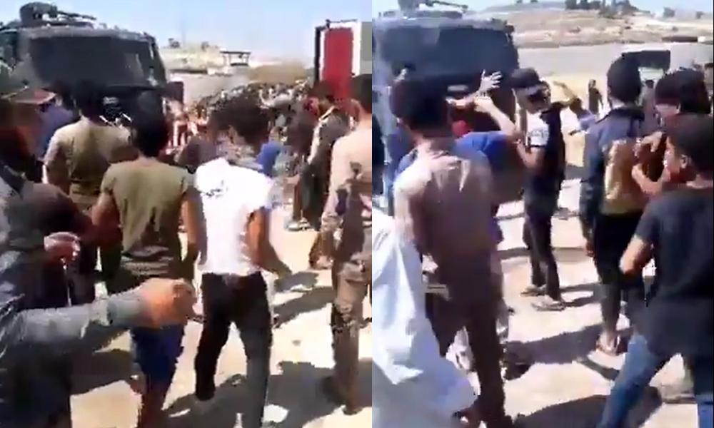 Sınırda gerginlik! Yüz binlerce Suriyeli Türkiye sınırına dayandı