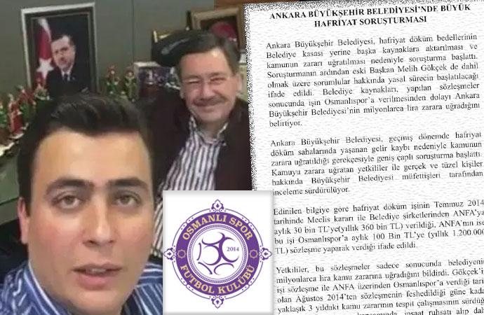 Milyonlarca liralık zarar! Belediye harekete geçti… 'Gökçek'lerin Osmanlıspor kıyağına soruşturma