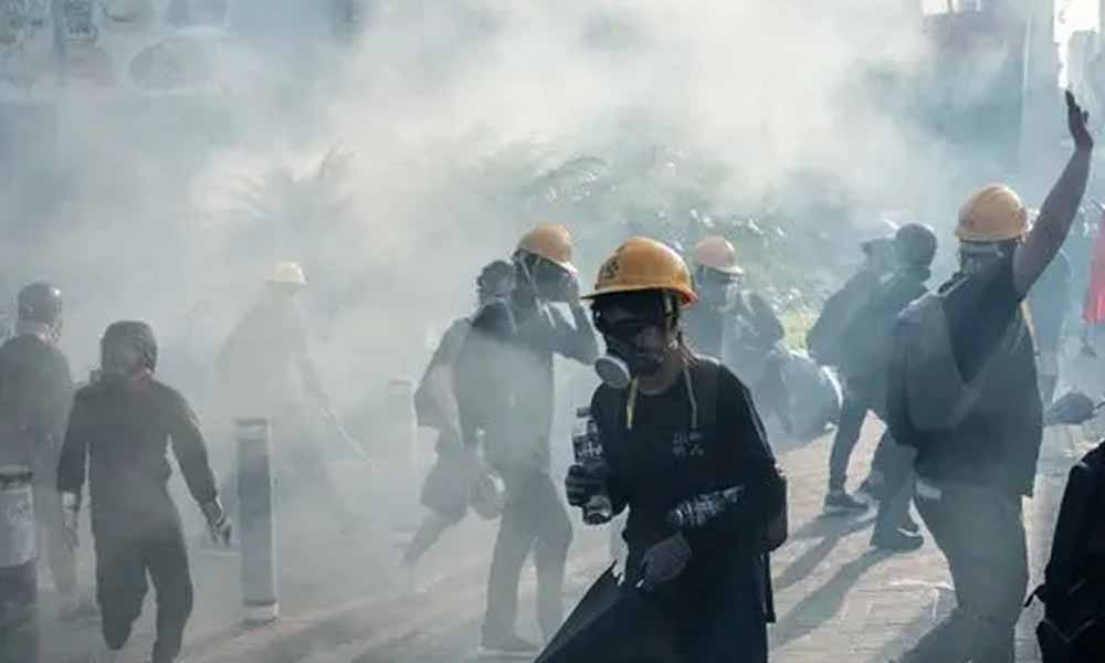 Hong Kong'daki protestolarda 148 kişi gözaltına alındı