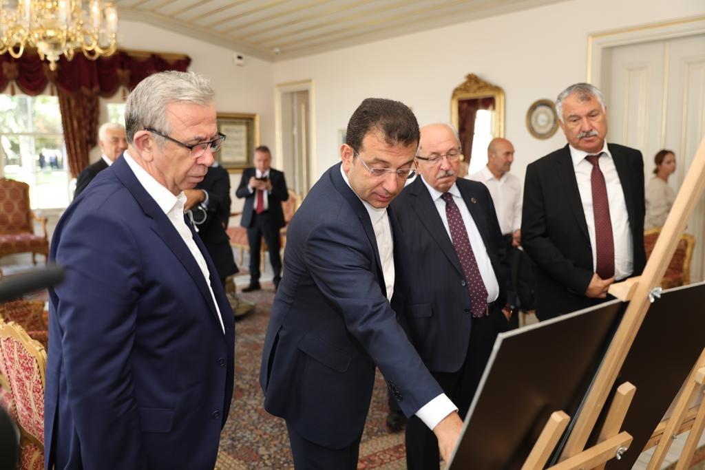 İmamoğlu ev sahipliği yapıyor! Büyükşehir Belediye Başkanları Çalıştayı başladı