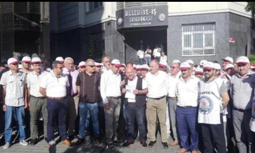 İBB çalışanları yandaş medyanın 'İmamoğlu' kumpası için ayaklandı