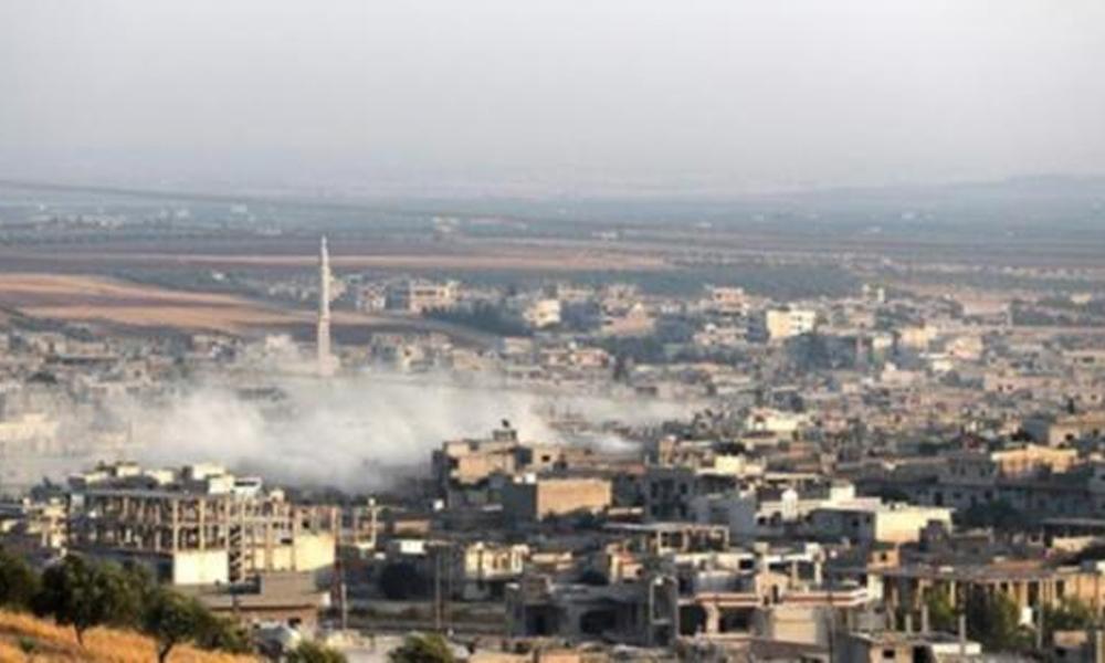 İdlib'de 'savaş uçağı' düştü iddiası!