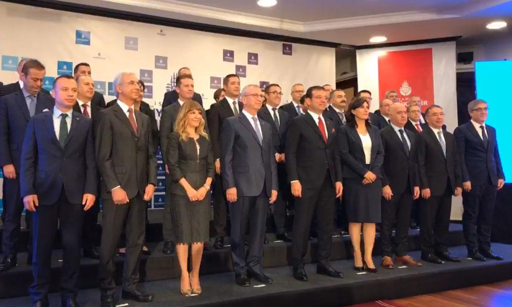 Ekrem İmamoğlu, İBB'nin yeni üst yönetimini tanıttı: İşte o isimler