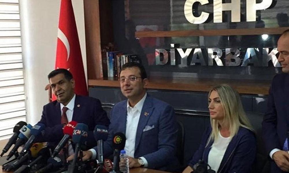 Ekrem İmamoğlu'ndan Diyarbakır'da flaş kayyum açıklaması