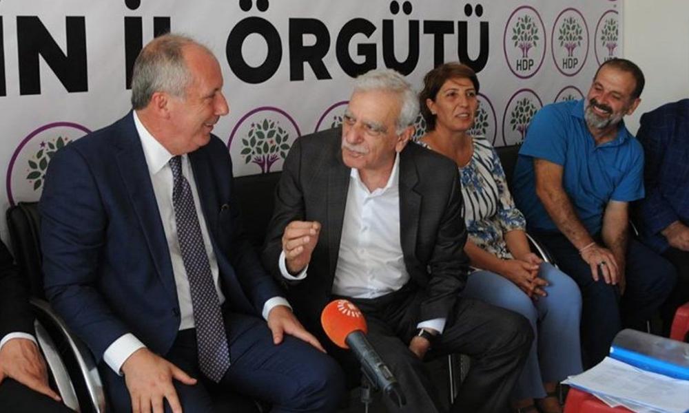 Muharrem İnce, Ahmet Türk'e neden 'Ağabey' dediğini açıkladı