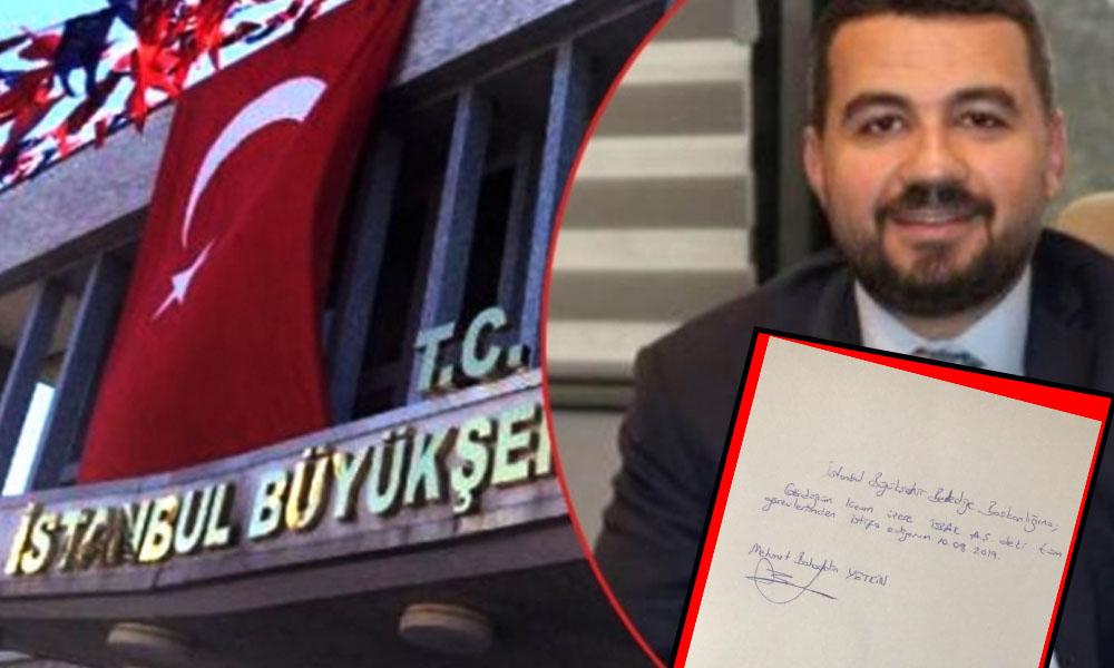 İSBAK'a atanan Bahaddin Yetkin istifa etti