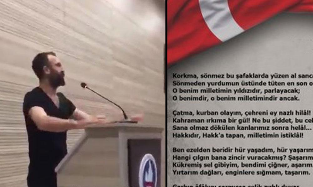 İstiklal Marşı'nın kaldırılmasına tepki gösteren öğrencilere ceza…