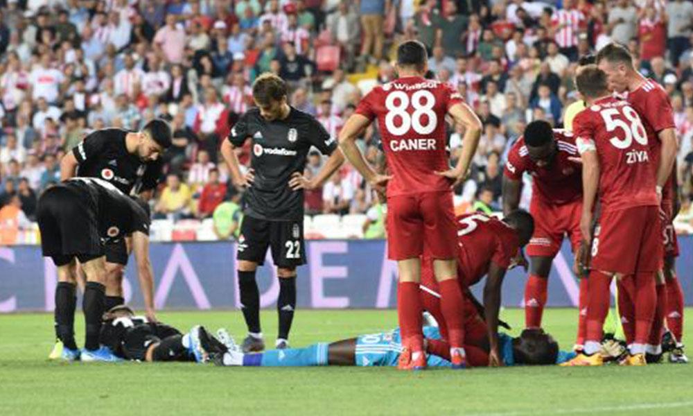 Sivasspor-Beşiktaş maçında hastaneye kaldırılan Samassa hafıza kaybı yaşadı