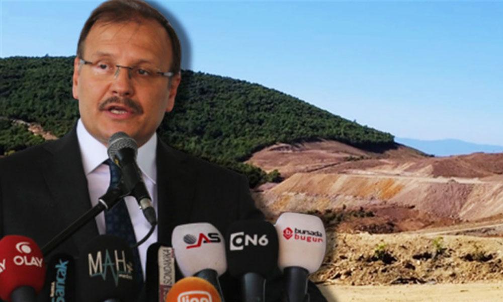 AKP'li Çavuşoğlu'ndan 'Kaz Dağları' yorumu: Türkiye kaos çabalarıyla yeniden meşgul edilmek isteniyor