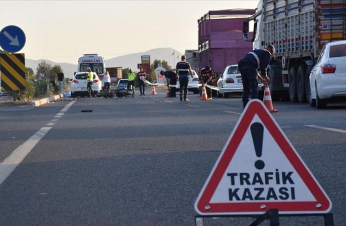 Bayram tatilinin kaza bilançosu: 50 kişi hayatını kaybetti