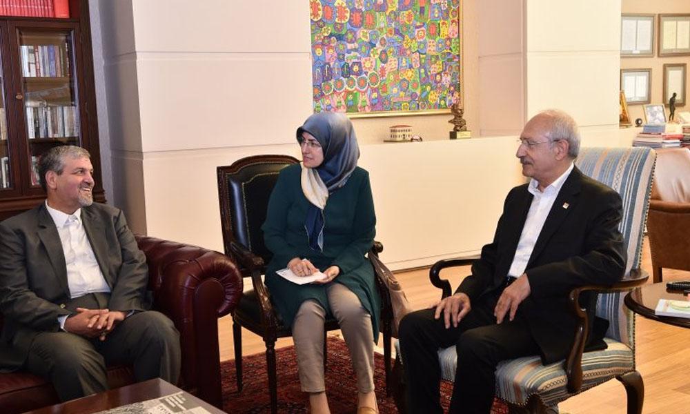 Kılıçdaroğlu, İran heyeti ile görüştü