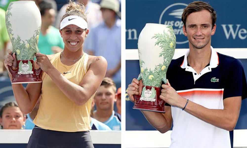 Cincinnati Master'ın kazananları Keys ve Medvedev