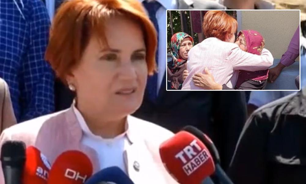 Emine Bulut'un annesi kendisini ziyaret eden Akşener'den ne istedi?