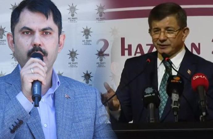 Bakan Kurum'dan Davutoğlu'na 'Konya' göndermesi