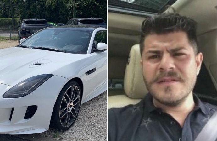 AKP'li Tuğrul Selmanoğlu yeni Jaguar aldı, fotoğrafını paylaştı, gelen tepkilere 'At, avrat silah demiş atalarımız' diye yanıt verdi