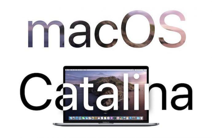 macOS Catalina alan modeller