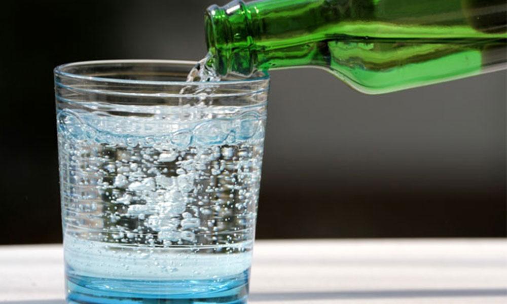 Sudan sonra en yararlı içecek 'Maden suyu'