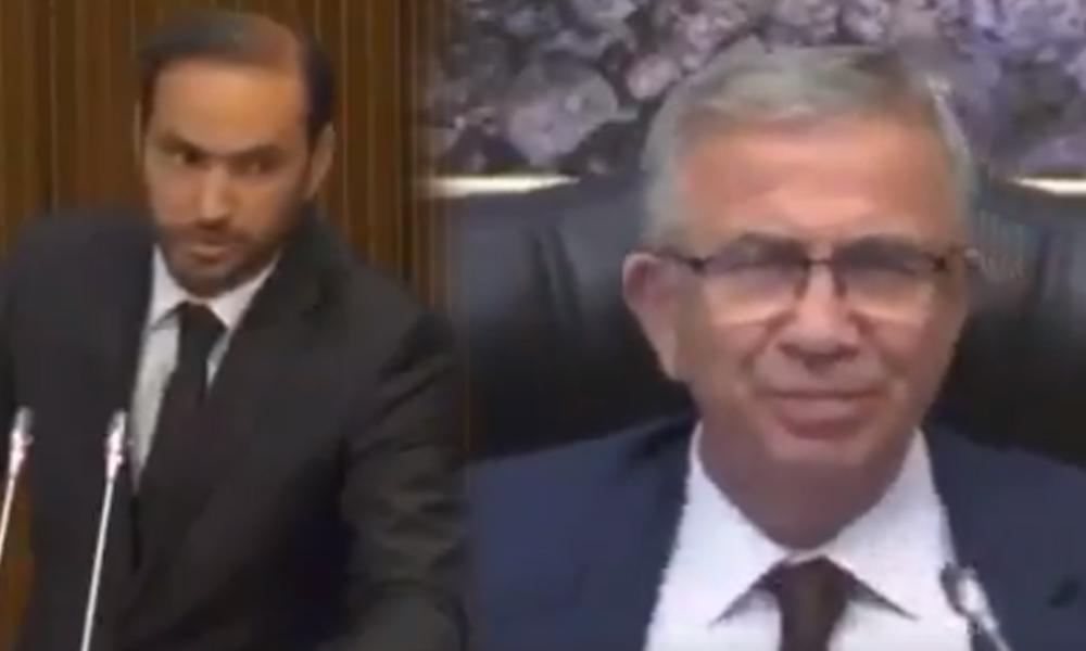 Mansur Yavaş'ın AKP'li üyeye 'altyapı' yanıtı Meclis toplantısına damga vurdu