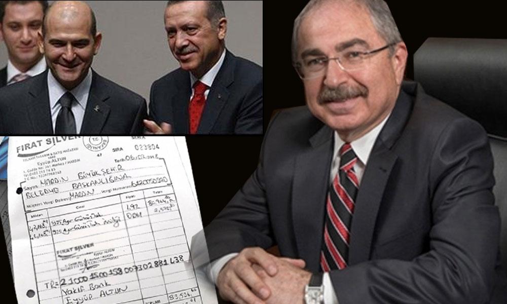 600 bin liralık belgeler yayınlandı… Mardin'de kayyum AKP'li bakanları hediyeye boğmuş: Erdoğan ve Soylu da 'nasibini' aldı