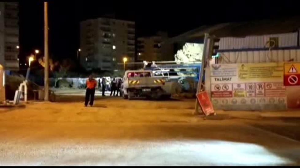 İzmir'de metro inşaatında kaza: 1 işçi öldü