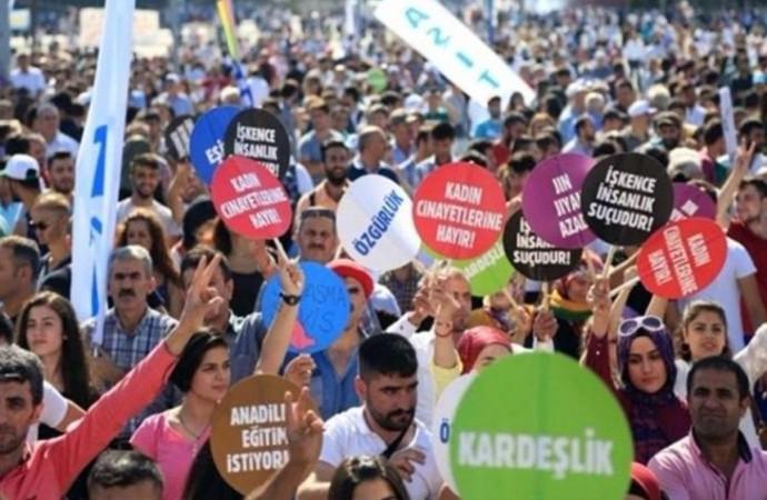 Yurttaşlar, 1 Eylül Dünya Barış Günü'nde baskı ve yasaklara karşı bir araya gelecek