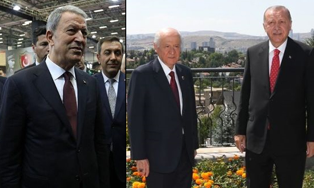 Erdoğan ile Bahçeli ne konuştu? Abdulkadir Selvi: Hulusi Akar küplere bindi