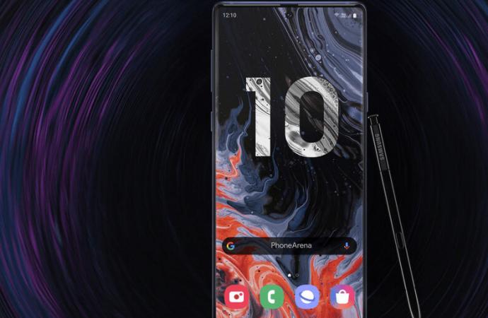 Samsung Galaxy Note 10 Plus canlı olarak görüntülendi