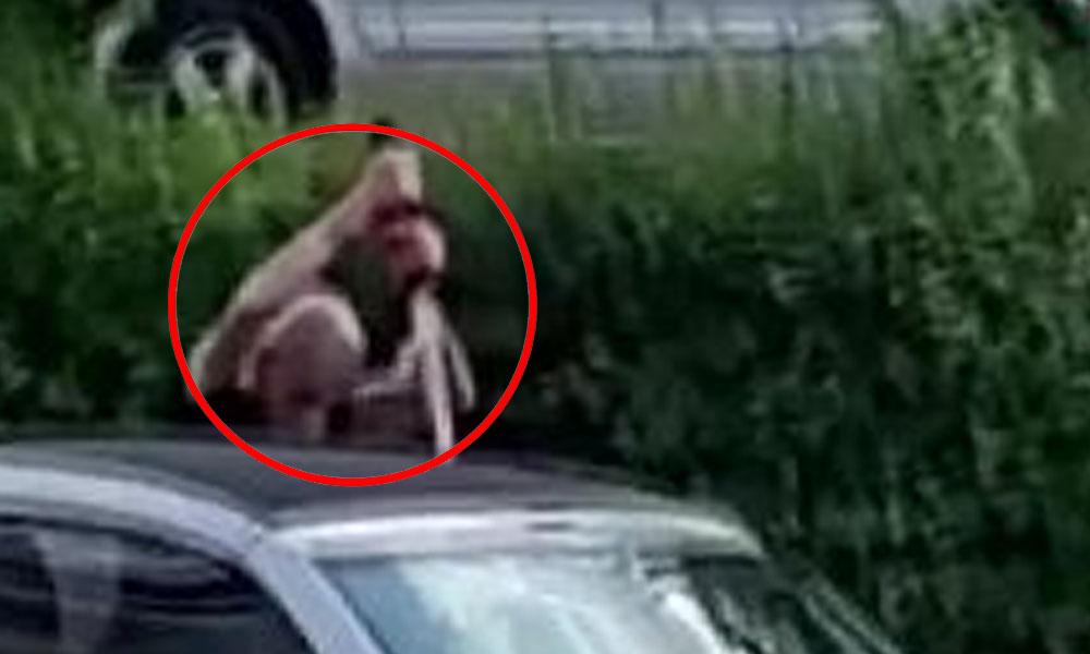 Almanya'da tartıştığı adamı kılıçla öldürdü