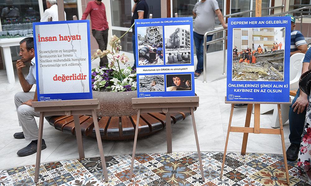 """Seyhan Belediyesi'nden """"Depreme duyarlılık"""" sergisi"""