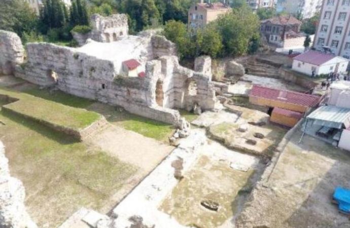 Sinop'ta 1500 yıllık kilise kalıntıları bulundu