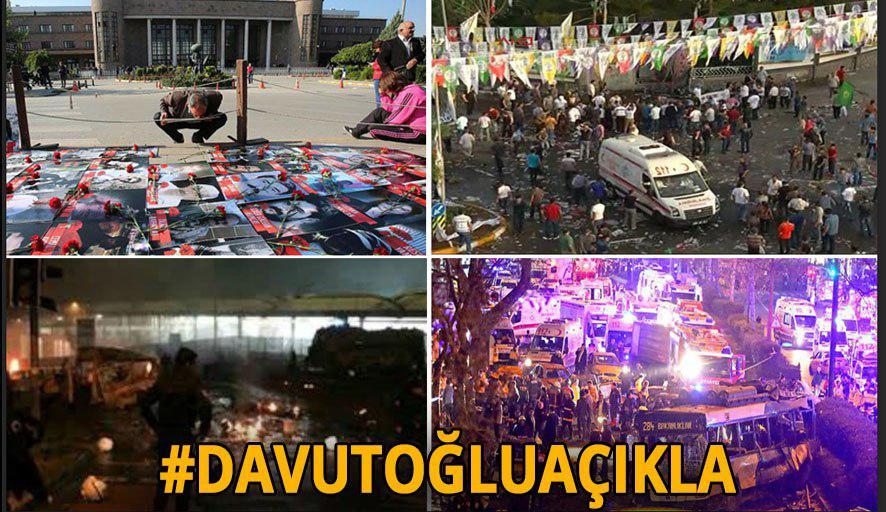 #DavutoğluAçıkla: 7 Haziran- 1 Kasım arasında neler yaşandı? Suruç, Ankara…