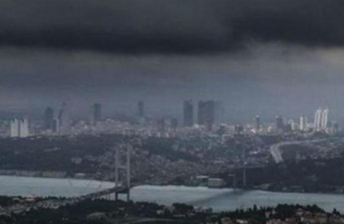 İstanbul için alarm! 'Kuvvetli yağışlar dolu süper hücre ve hortum riski'