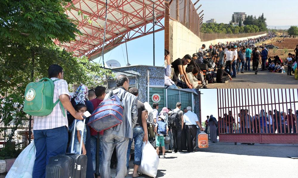Kurban Bayramı'nda ülkelerine giden Suriyeliler geri dönüyorlar