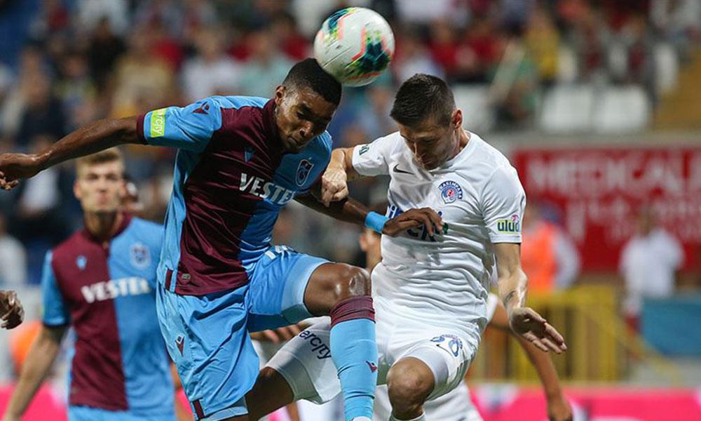 Trabzonspor ve Kasımpaşaspor puanları paylaştı