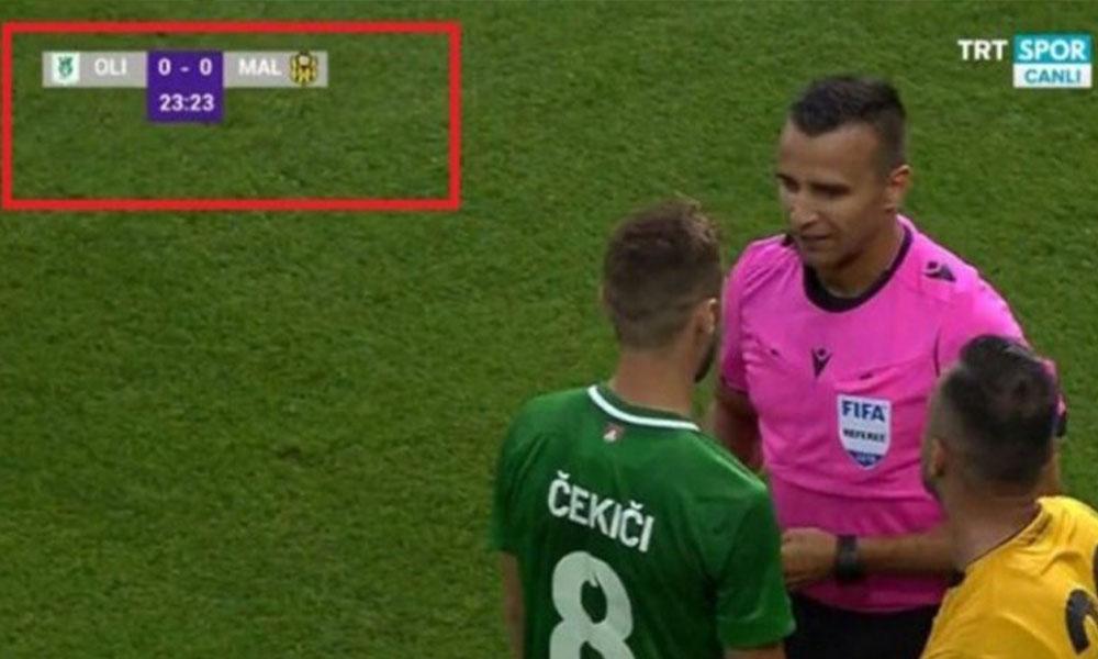 Malatyaspor ekranda 'MAL' diye kısaltılmıştı! Tepkiler sonrası TRT'den açıklama…