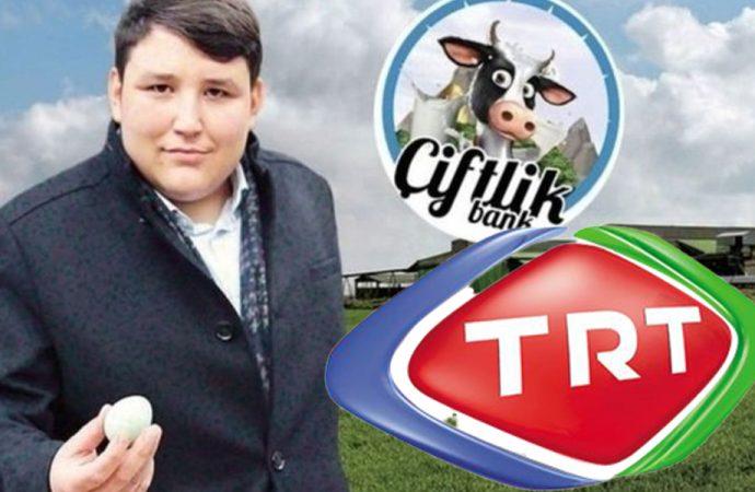 Çiftlik Bank'ın reklam yüzü artık TRT ekranlarında!