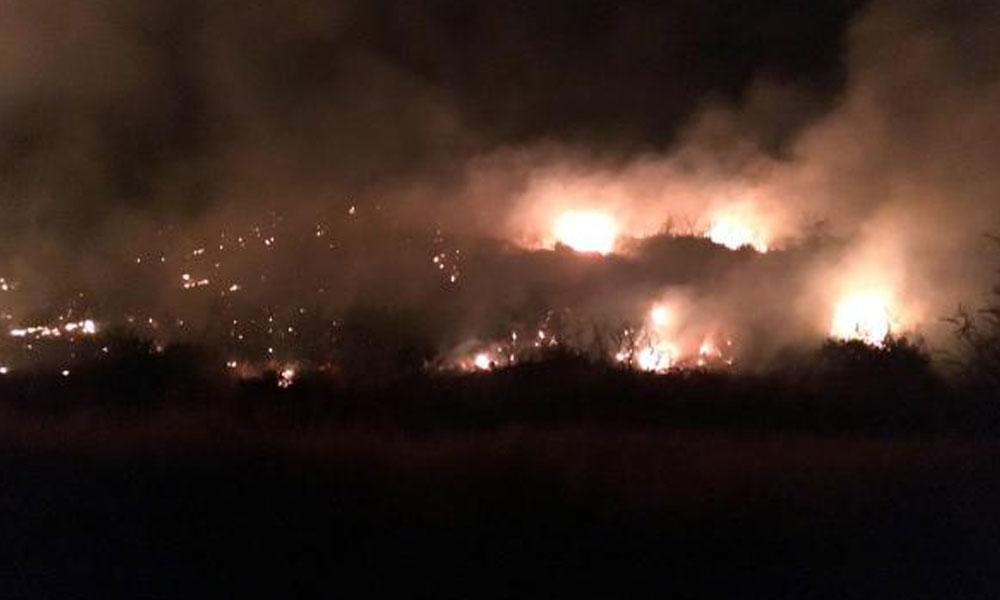 Antalya'da orman yangını… Patlayan hortum işçiyi yaraladı