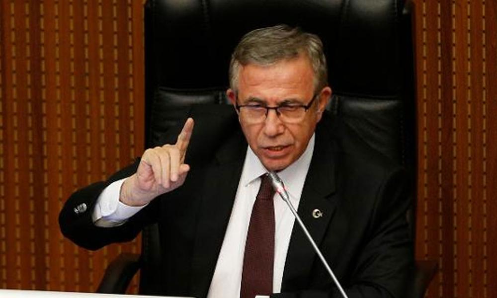 Meclis'te tansiyon yükseldi… Mansur Yavaş'tan AKP'li Burhan'a: Önce şirketleri verin kardeşim
