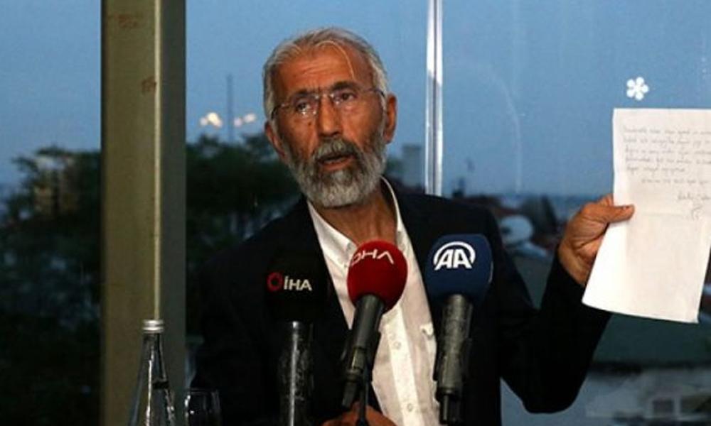 Seçim öncesi Öcalan'ın mektubunu okuyan Özcan'dan açıklama: Önce Erdoğan'la görüştüm