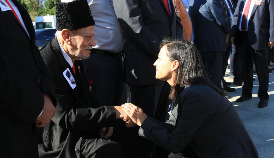 19 Eylül Gaziler Günü Efes Selçuk'ta törenle kutlandı