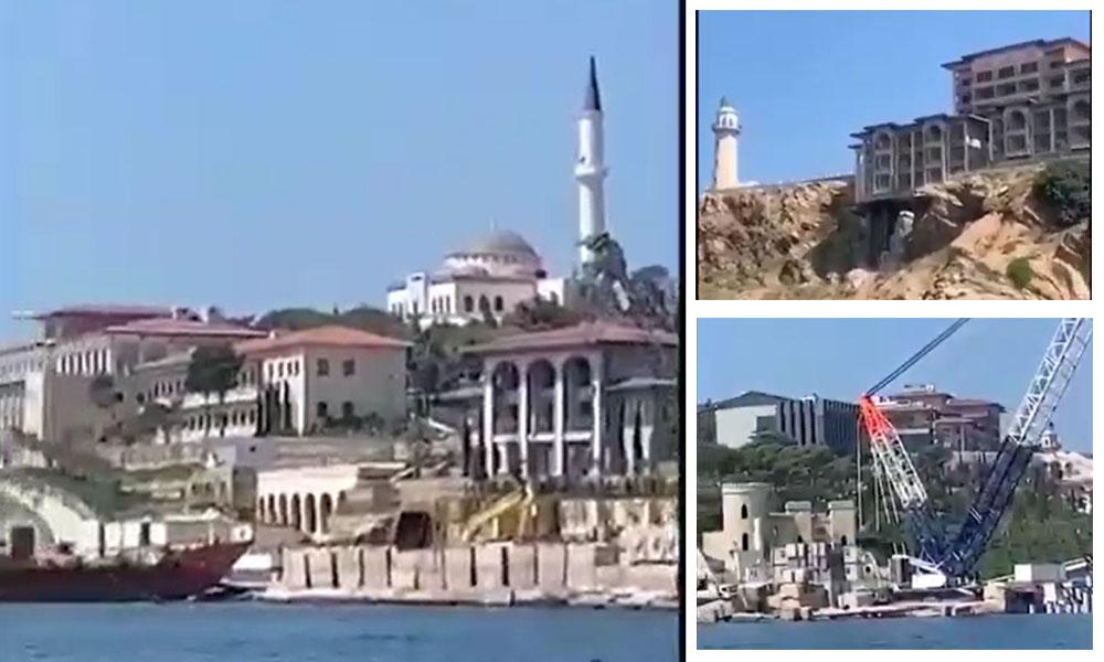 'Demokrasi ve Özgürlükler Adası' olacaktı! Yassıada beton adası oldu