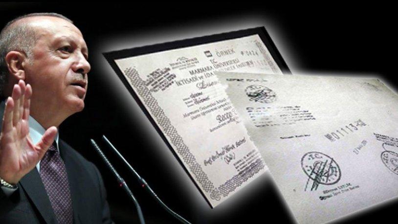 'Erdoğan'ın diplomasının olmadığının en kesin belgeleri' dedi ve ardı ardına paylaştı…