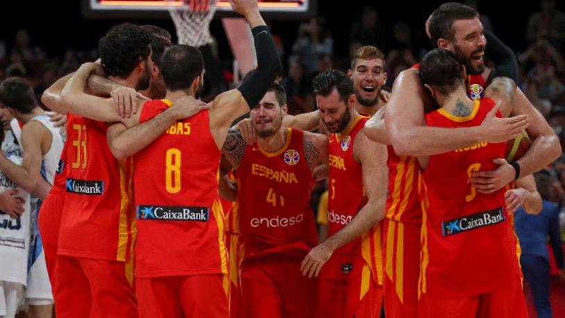 FIBA Dünya Kupası şampiyonu  İspanya!
