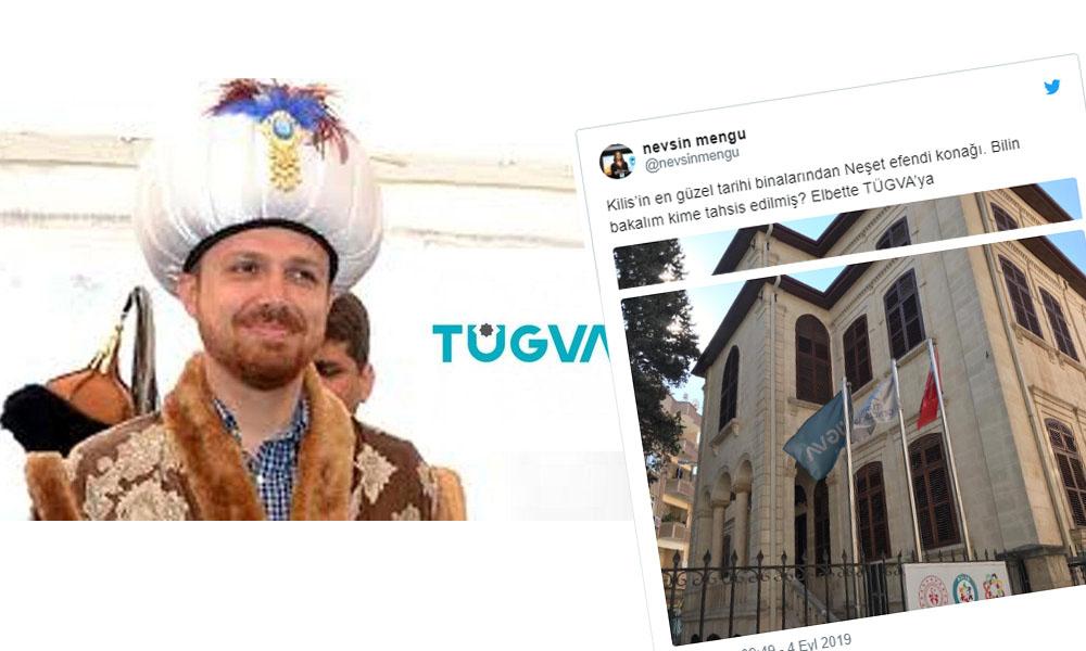 Kilis Etnografya Müzesi olarak hizmete açılmıştı, şimdi TÜGVA'nın oldu