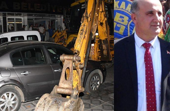 'Cumhur İttifakı'ndan bir enkaz daha! Maaşlar ödenmedi, Belediye Başkanı'nın aracına haciz geldi