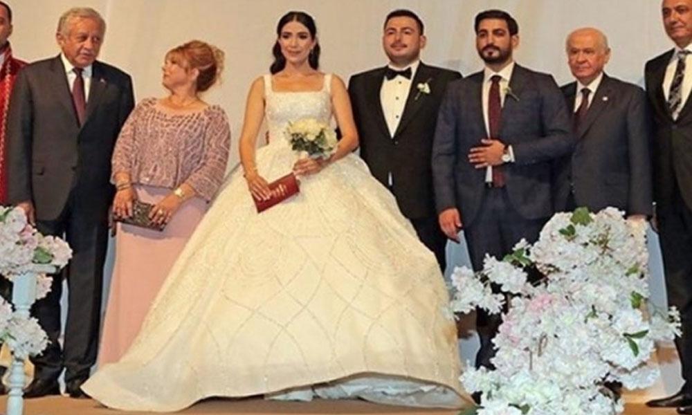Bahçeli ve yeraltı dünyası Drej Ali'nin oğlunun düğününde buluştu