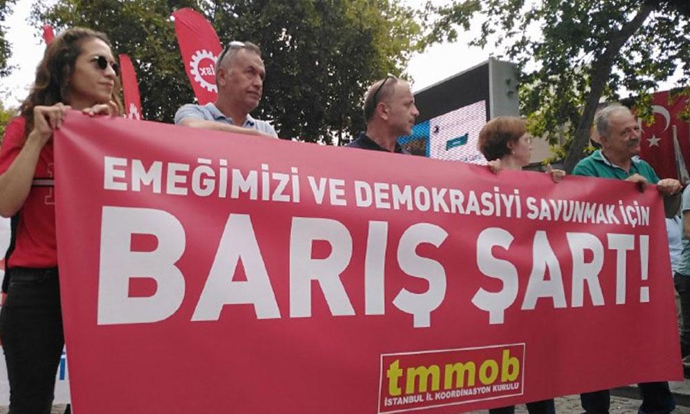 1 Eylül Dünya Barış Günü| On binler meydanlarda: 'İstanbul'dan Mardin'e kayyuma karşı omuz omuza'