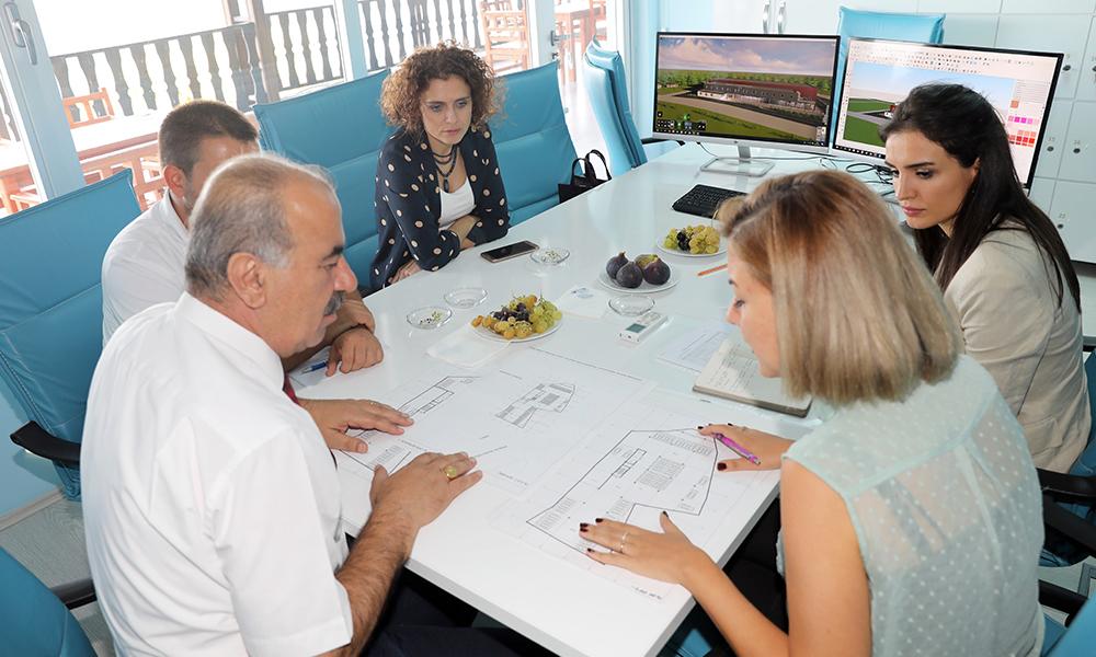 Mudanya'da yeni Kapalı Pazar Projesi'nin çalışmaları başladı