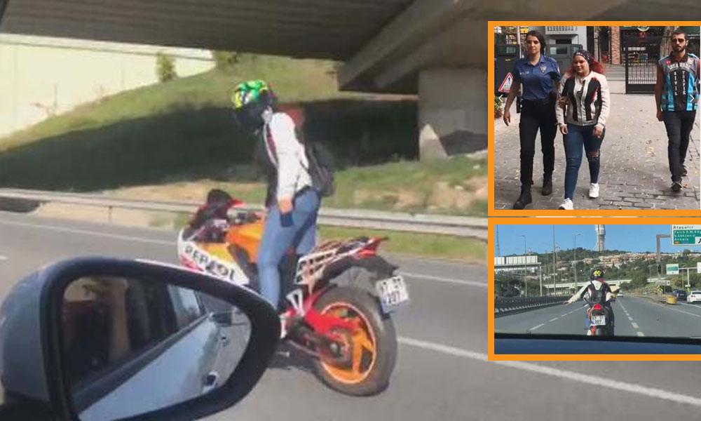 Trafikteki hareketleri şoke etmişti! Yakalandı