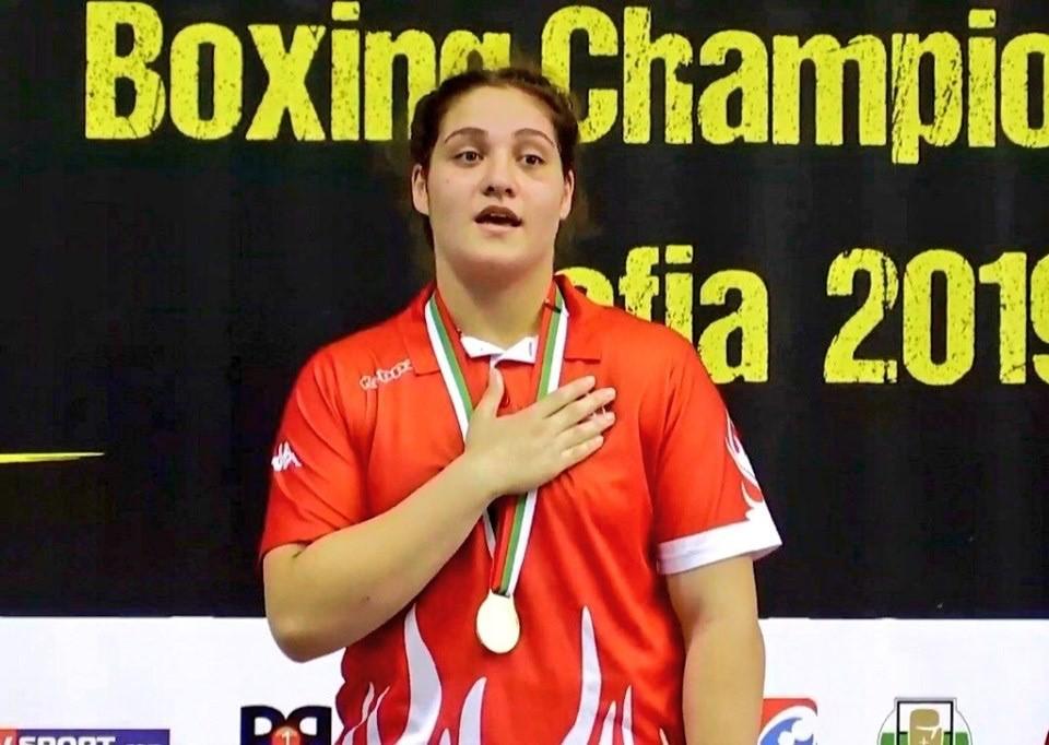 Milli boksör Büşra Işıldar Avrupa şampiyonu oldu
